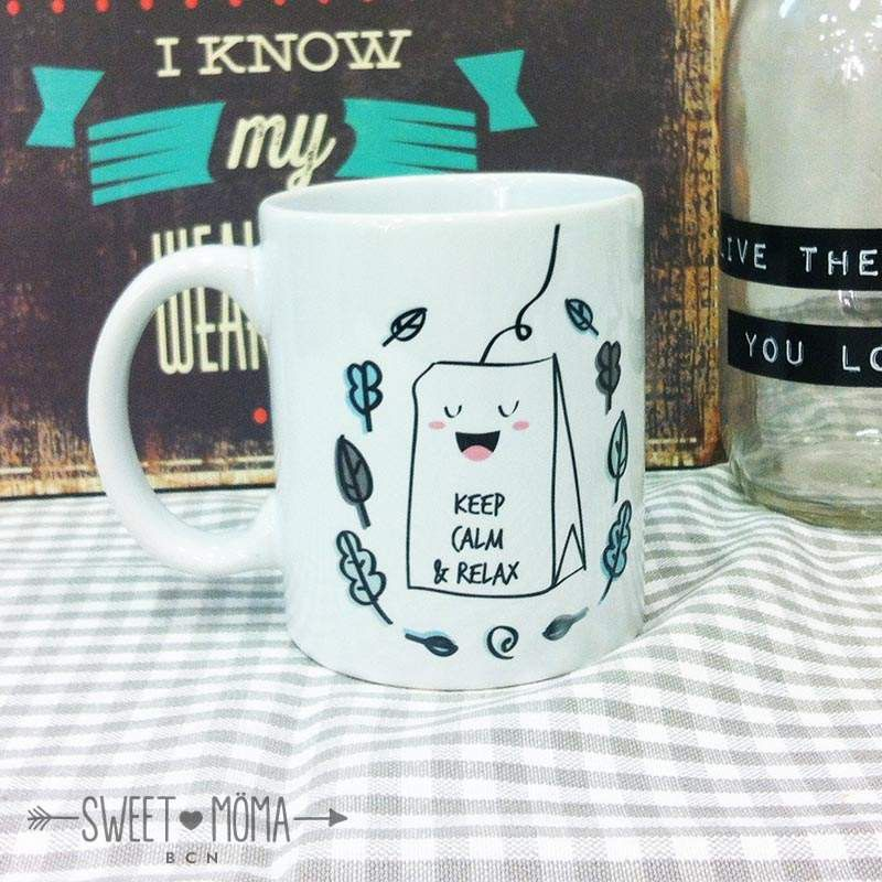 Taza SM - Keep calm and relax