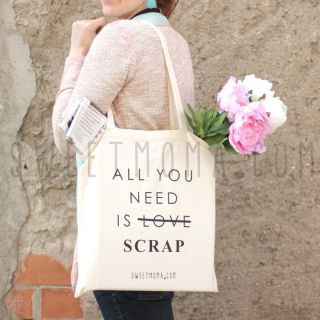 Bolsa Sweet Möma - All you need is scrap