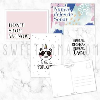 Pack de postales - Don't Stop Me Now