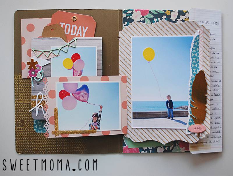File folder scrapbooking sweet möma-011