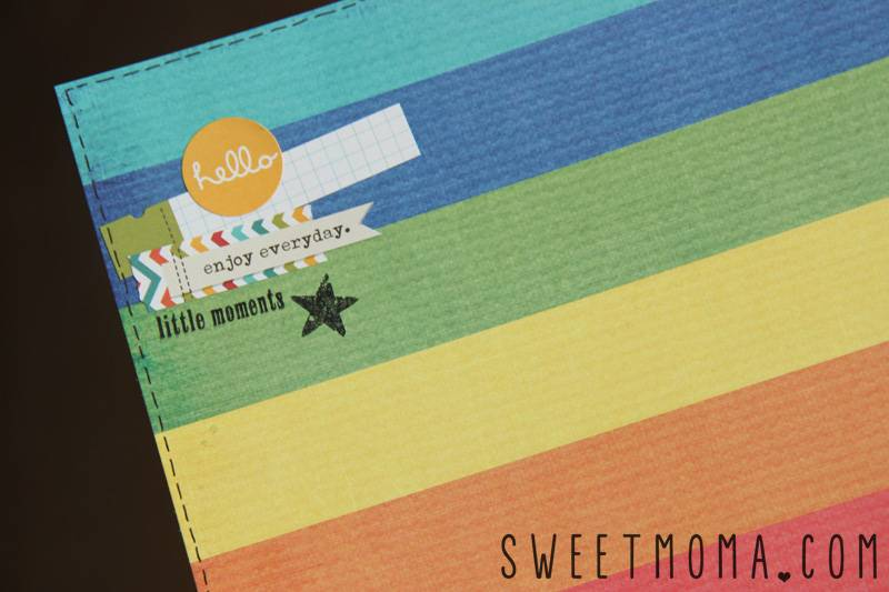 Layout De Scrapbooking: Best Things in Life Are Free 1