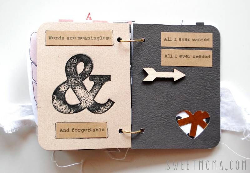 Tutorial Scrapbooking: Mini Musical 8
