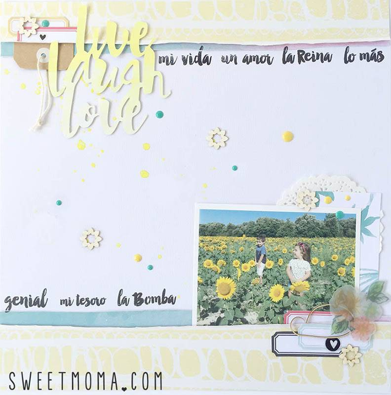 Layouts de Scrapbooking Eres Genial 3