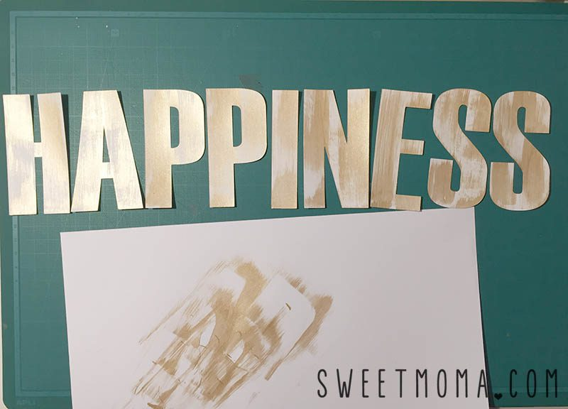 Layout de scrapbooking Happiness 2