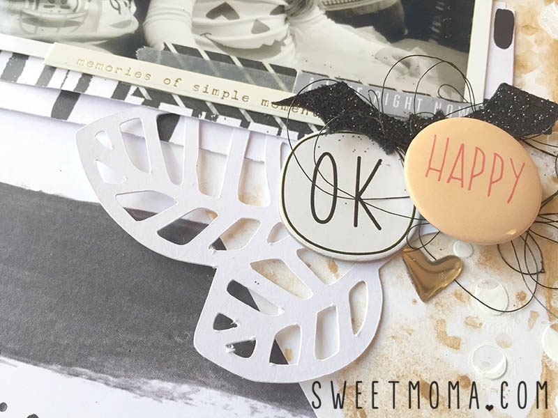 Layout de scrapbooking Happiness 3