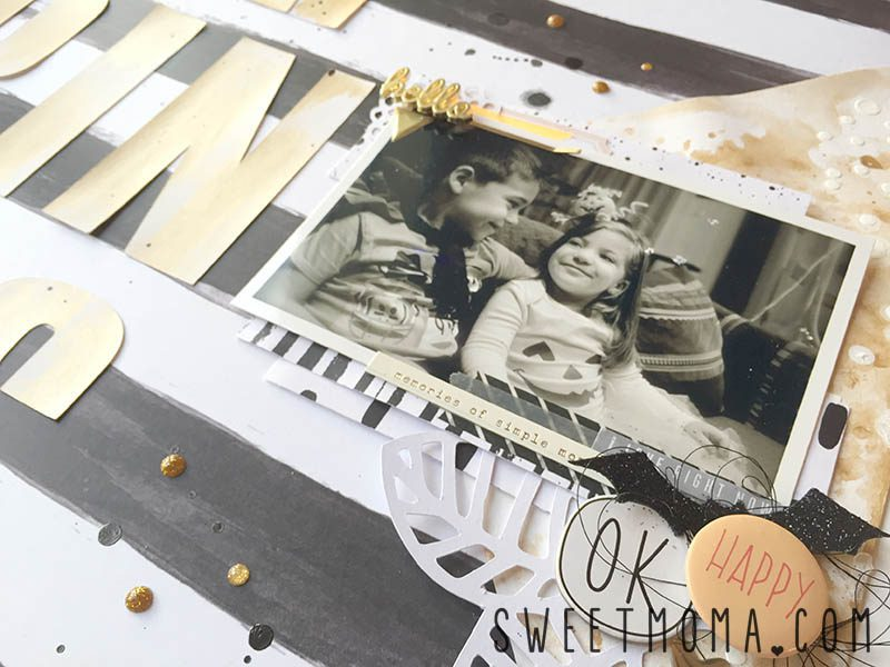 Layout de scrapbooking Happiness 5