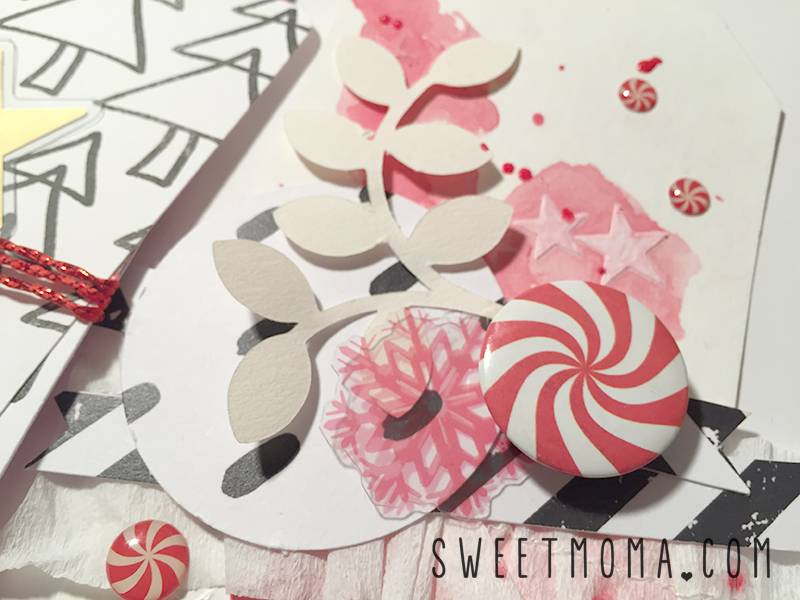 Home Decor con Tags Navideños 6