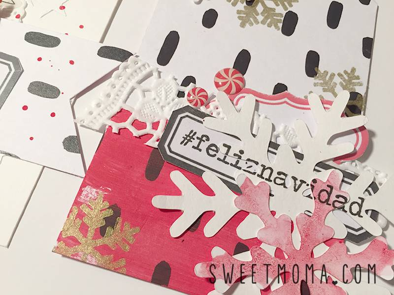 Home Decor con Tags Navideños 7