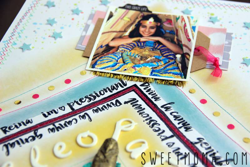 Scrapbooking Layout: Cleopatra 3
