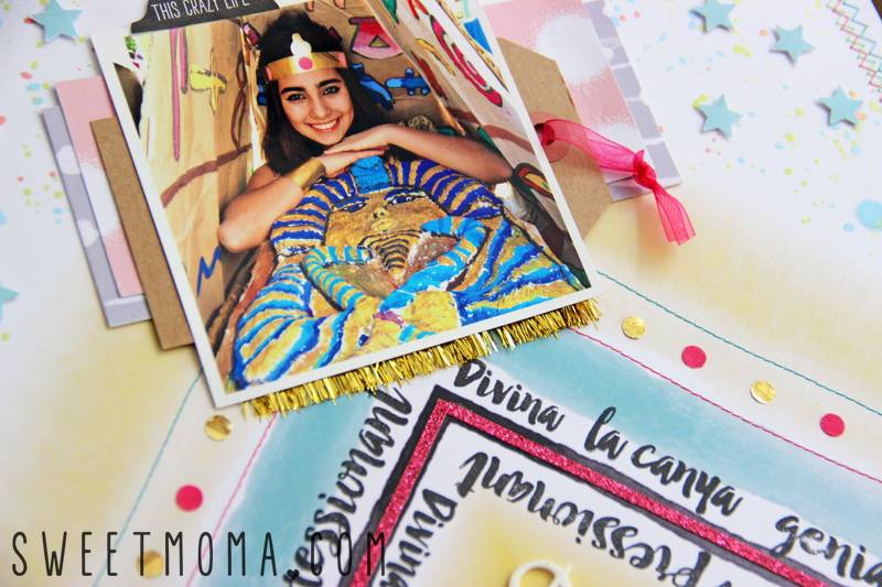 Scrapbooking Layout: Cleopatra 4