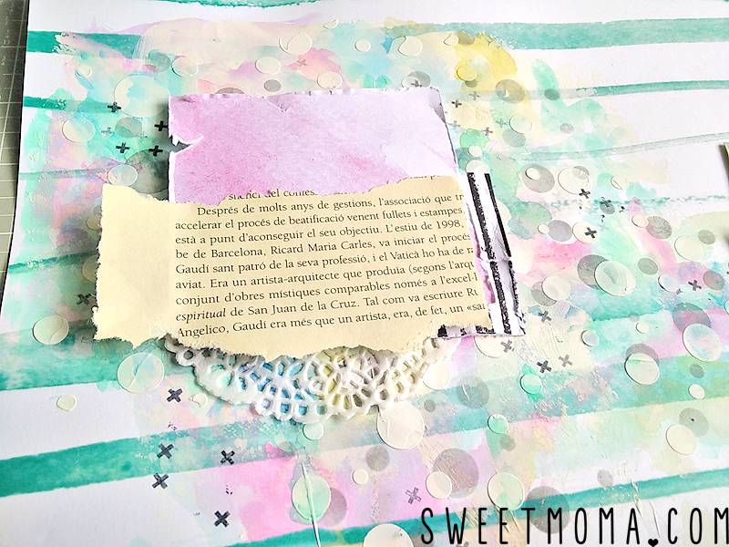 "Tutorial: Layout Mixed Media ""Best Ever"" (Paso a Paso) 11"