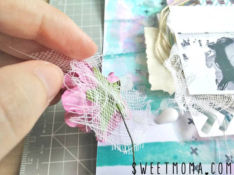 "Tutorial: Layout Mixed Media ""Best Ever"" (Paso a Paso) 17"