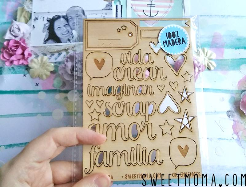 "Tutorial: Layout Mixed Media ""Best Ever"" (Paso a Paso) 19"