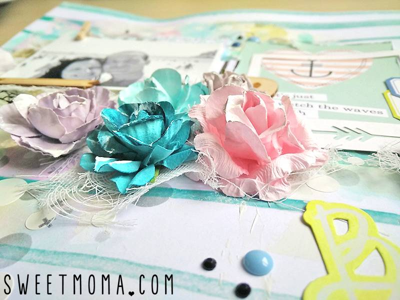 "Tutorial: Layout Mixed Media ""Best Ever"" (Paso a Paso) 21"