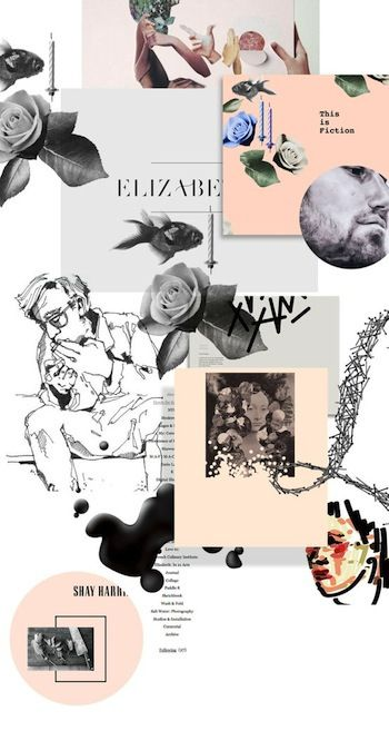 Layout Moodboard con Thalassia 3