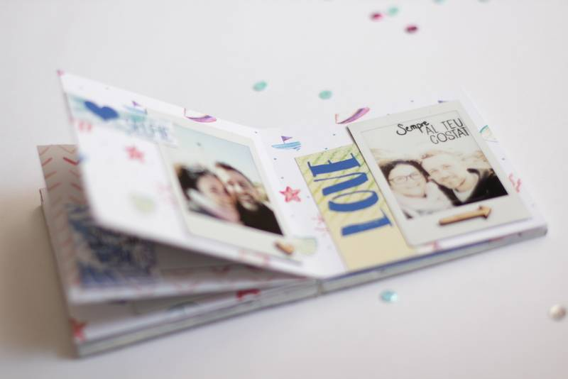 Tutorial Scrapbooking: Mini Álbum Ibiza 10