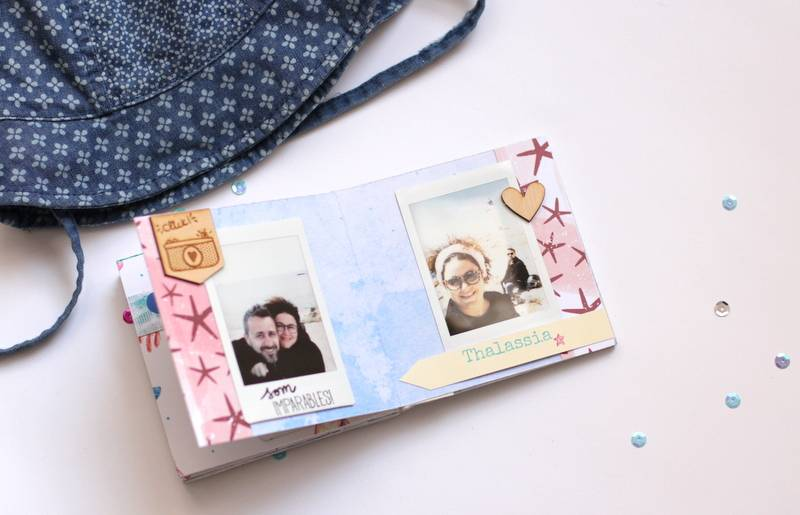 Tutorial Scrapbooking: Mini Álbum Ibiza 14