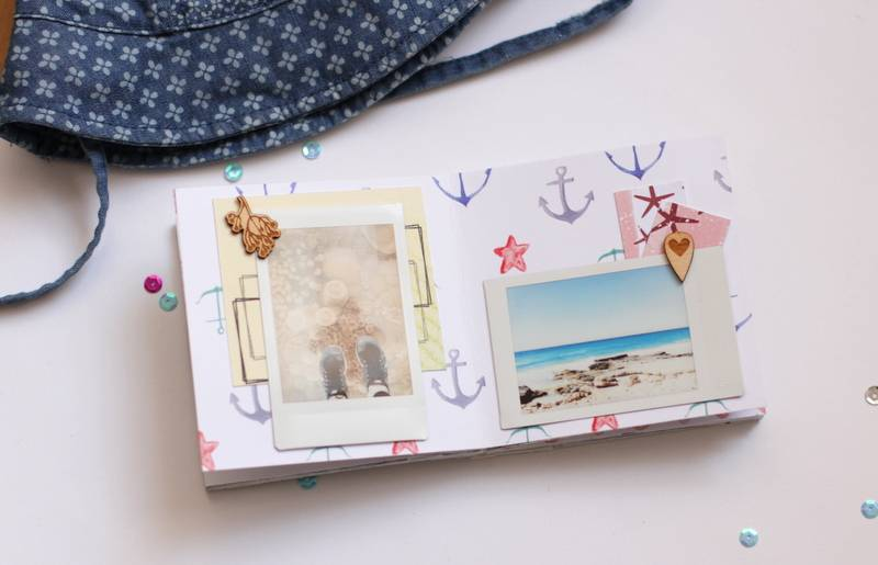 Tutorial Scrapbooking: Mini Álbum Ibiza 17