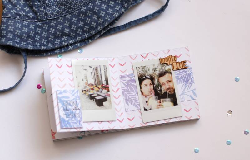 Tutorial Scrapbooking: Mini Álbum Ibiza 18