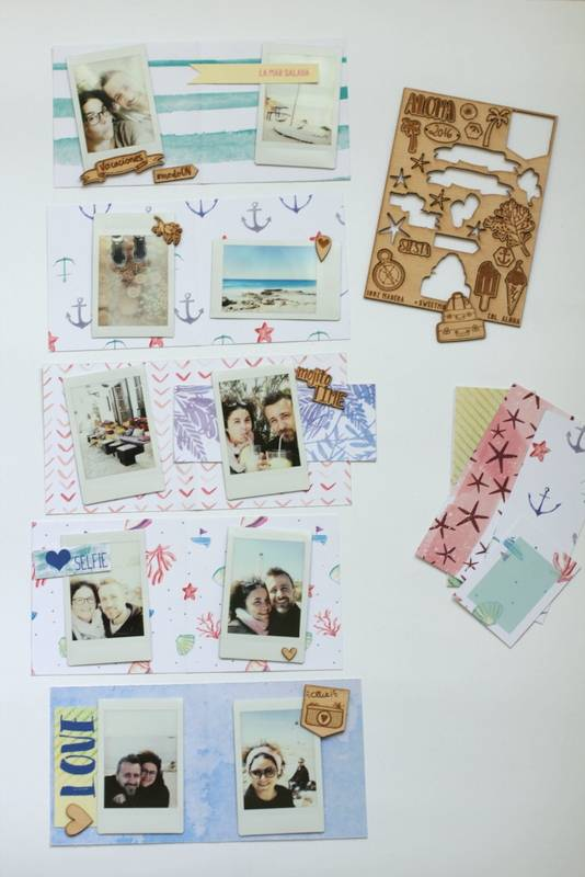 Tutorial Scrapbooking: Mini Álbum Ibiza 4