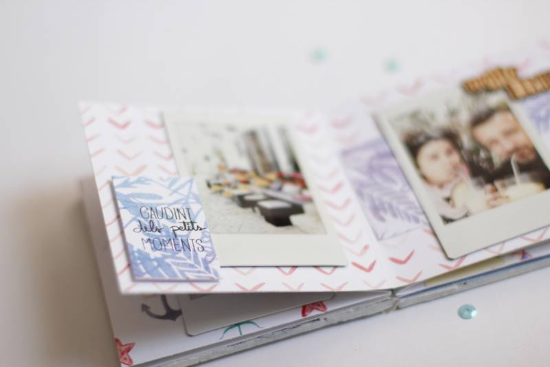 Tutorial Scrapbooking: Mini Álbum Ibiza 8