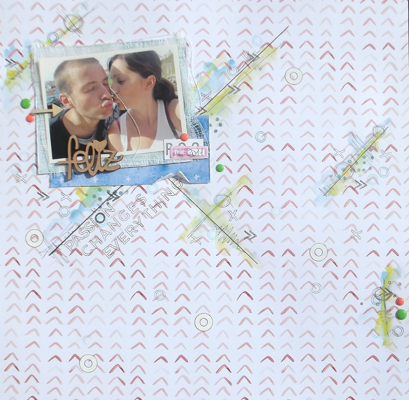 "Layout ""Passion changes everything"" con Thalassia 4"