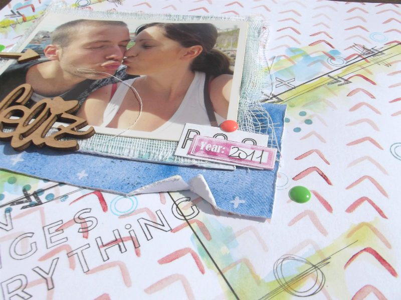 scrapbooking layout mrsdiaz passion changes everything