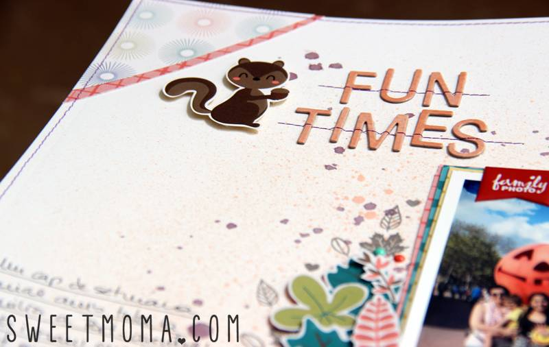 Tutorial: Página de Scrapbooking Fun Times 2