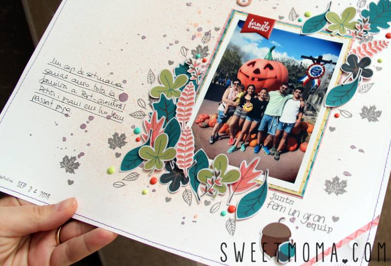 Tutorial: Página de Scrapbooking Fun Times 3
