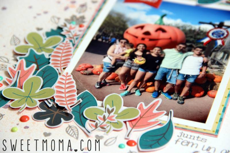 Tutorial: Página de Scrapbooking Fun Times 5