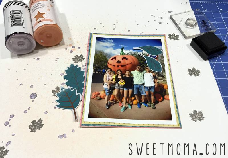 Tutorial: Página de Scrapbooking Fun Times 1
