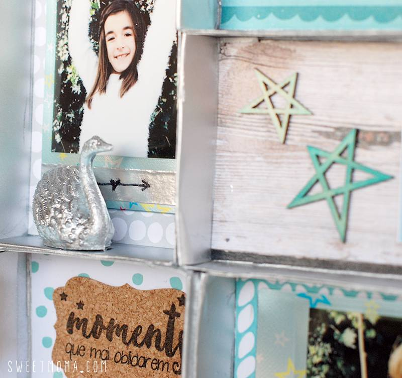 Shadow Box con departamentos 5