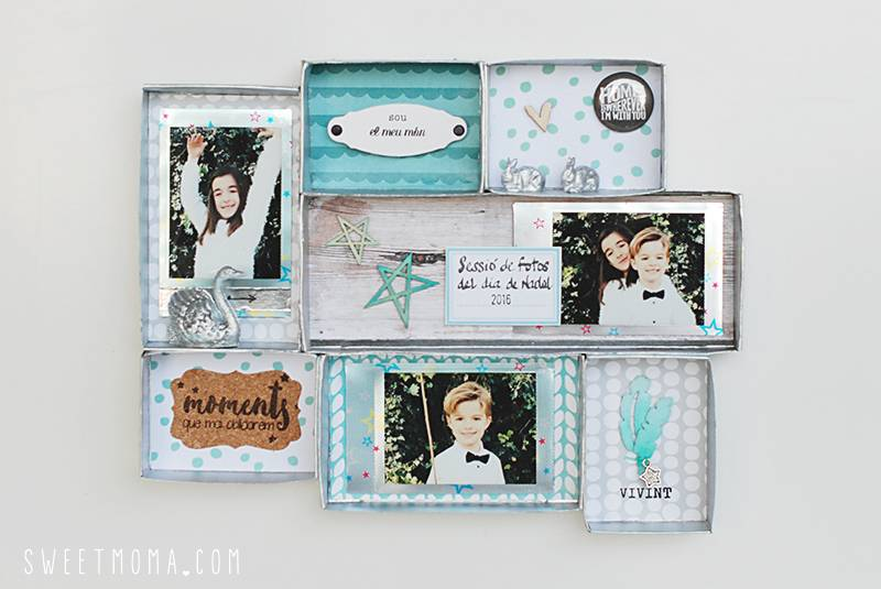 Shadow Box con departamentos 9