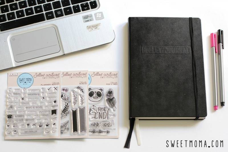 Bullet Journal y Sellos Sweet Möma 1
