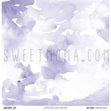 Set 12 papeles doble cara Sweet Möma - Sky Light