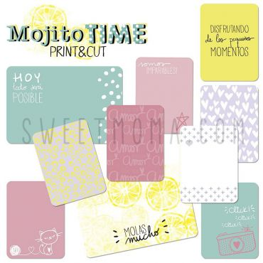 Tarjetas Project life Digital - Mojito (ESP)