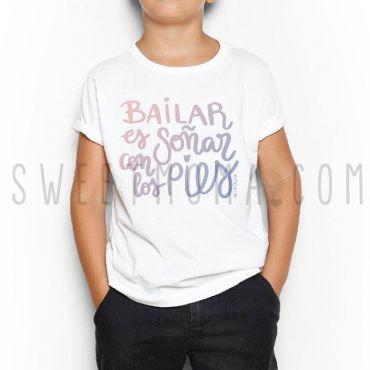 Camiseta kids - Bailar