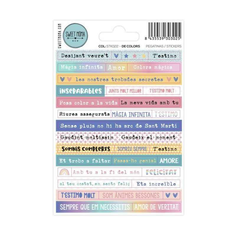Stickers - De colors (CAT)
