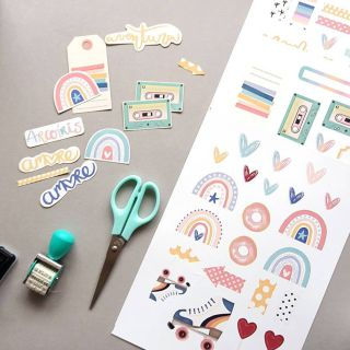 Die cuts Recortables – Sweet Candy