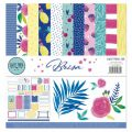 Set 12 papers double-side printed - Brisa