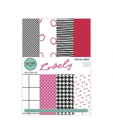 Papers A4 digital - Lovely