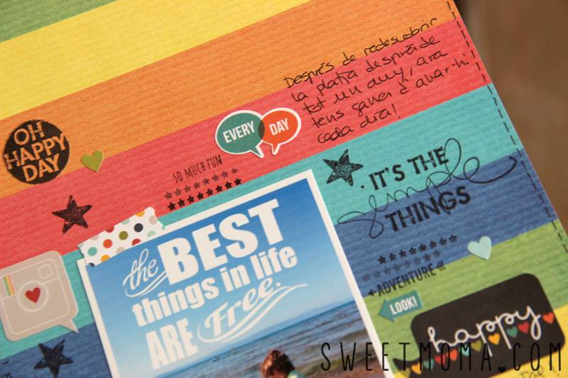 Layout De Scrapbooking: Best Things in Life Are Free 6