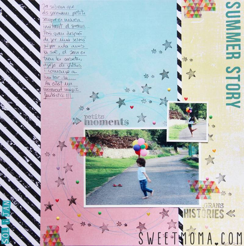LAYOUT: SUMMER STORY 1