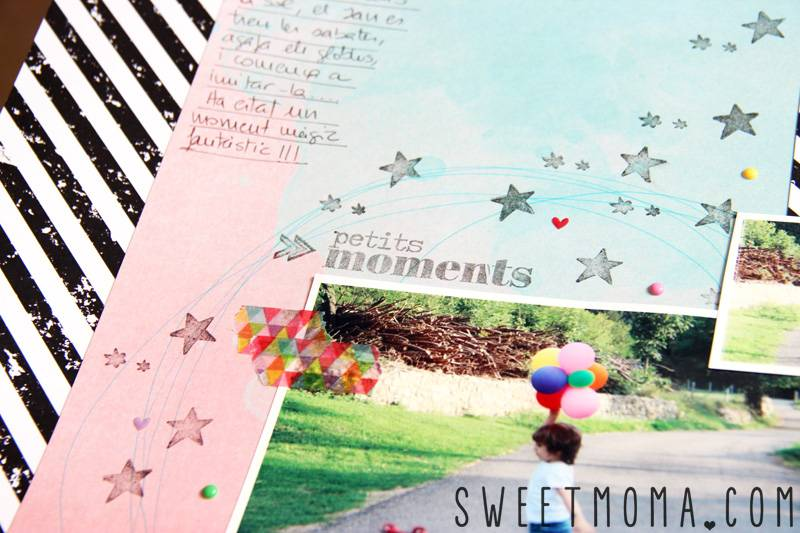 LAYOUT: SUMMER STORY 4