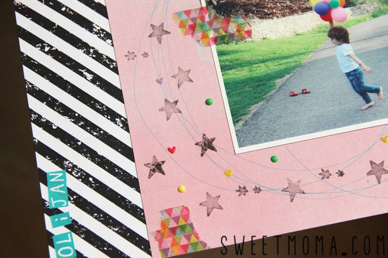 LAYOUT: SUMMER STORY 2
