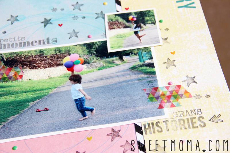 LAYOUT: SUMMER STORY 3