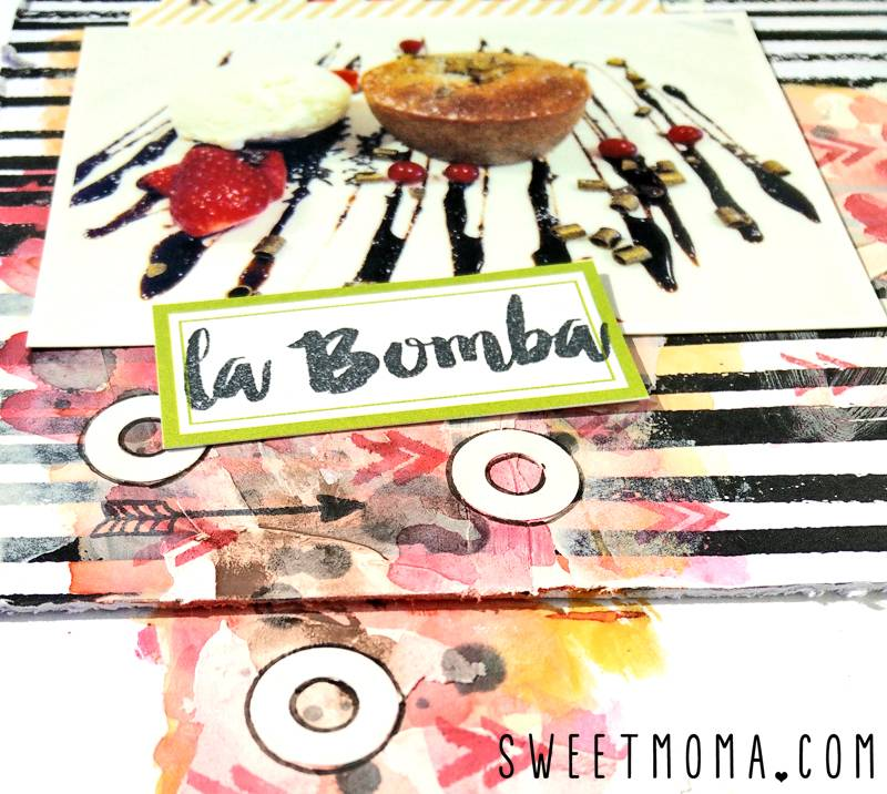 Layout Scrapbooking La Bomba 2
