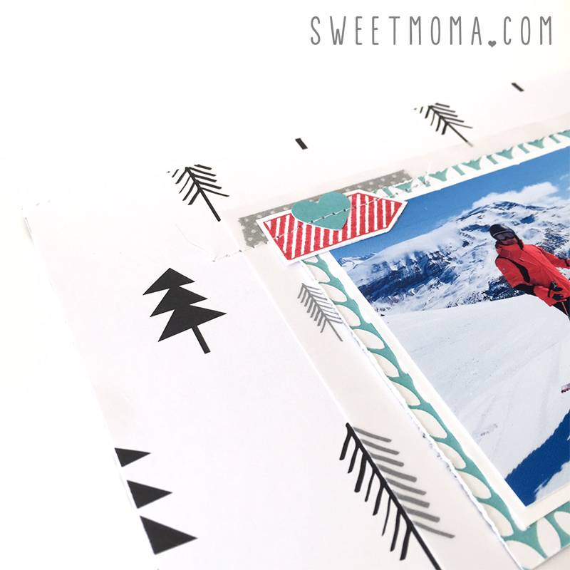 Layout de invierno con Warm heart 6