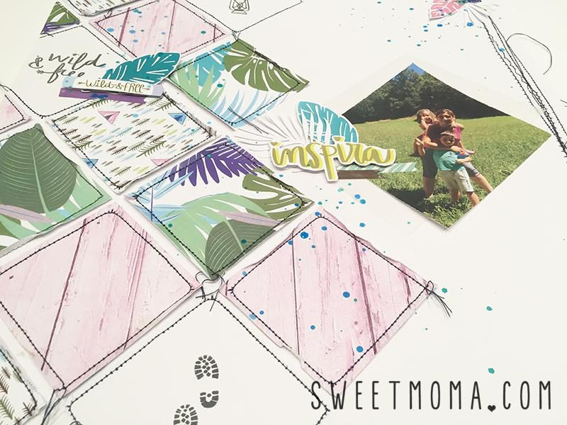 Layout Inspira con Wild and Free 2