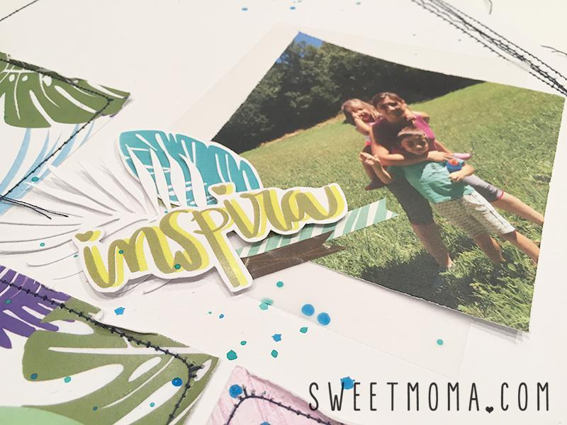 Layout Inspira con Wild and Free 3